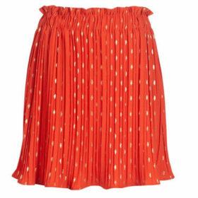Moony Mood  KIRITE  women's Skirt in Orange