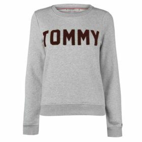 Tommy Hilfiger Textured Logo Sweatshirt