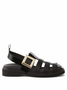 Off-white - Detachable Sleeve Cotton Jersey Hooded Sweatshirt - Womens - Green