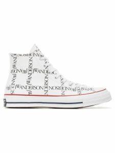 Converse x JW Anderson White Logo Print Sneakers