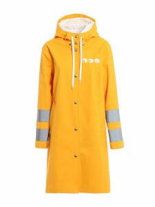 Miu Miu Printed Hooded Raincoat