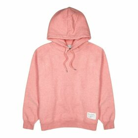 Acne Studios Rose Hooded Cotton Sweatshirt
