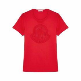 Moncler Girocollo Logo Cotton T-shirt