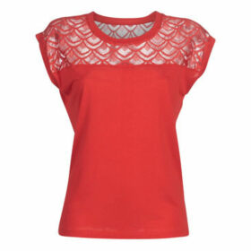 Only  ONLNICOLE  women's T shirt in Red