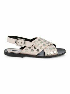 Sundance Studded Leather Sandals