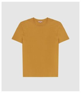 Reiss Bless - Crew Neck T-shirt in Orange, Mens, Size XXL
