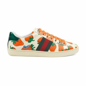 Women's Ace sneaker with Gucci Strawberry print