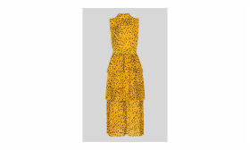 Animal Print Tiered Dress