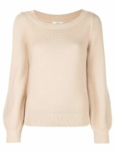 Co bell sleeve jumper - Brown