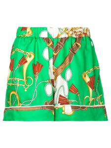 P.A.R.O.S.H. all-over print shorts - Green