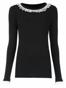 Andrea Bogosian long sleeved top - Black