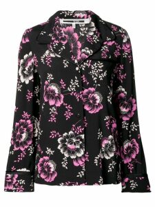 McQ Alexander McQueen floral print lounge shirt - Black