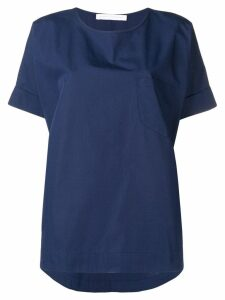 Société Anonyme dark blue oversized top