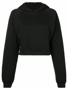1017 ALYX 9SM cropped logo hoodie - Black