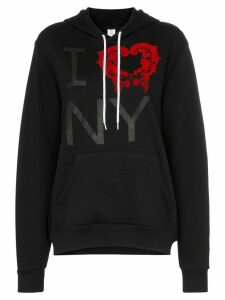 Rosie Assoulin I love NY hoodie - Black