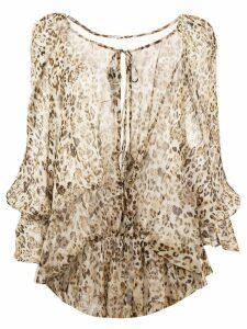 IRO leopard print blouse - Neutrals