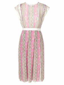 Giambattista Valli sleeveless floral midi dress - Pink
