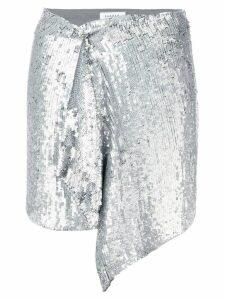 P.A.R.O.S.H. silver disco skirt