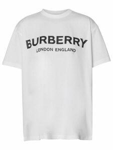 Burberry logo T-shirt - White