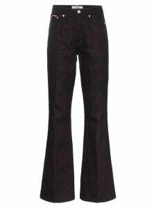 Eytys oregon high-waisted jeans - Black