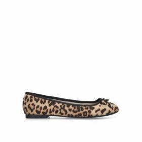 Miss KG Nelson - Leopard Print Ballerina Pumps