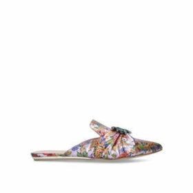 Kurt Geiger London Oona - Floral Embellished Flat Mules