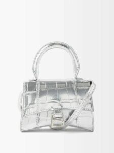 La Fetiche - Polka Dot Print Cashmere Sweater - Womens - Grey