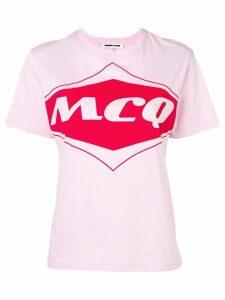 McQ Alexander McQueen logo T-shirt - PINK