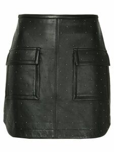 Manning Cartell studded mini skirt - Black