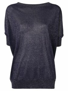 Fay glitter knitted top - Blue
