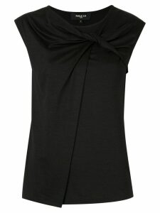 Paule Ka sleeveless fitted top - Black