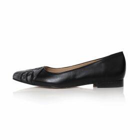 Cove - Eva Blue & Pink Cashmere Jumper
