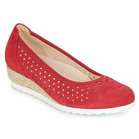 Gabor  BALETI  women's Shoes (Pumps / Ballerinas) in Red