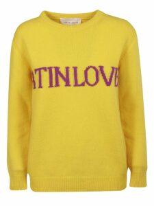 Alberta Ferretti Love Is Love Sweater