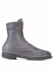 Guidi front zip boots - Grey
