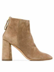 Premiata block heel ankle boots - Brown
