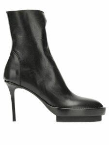 Ann Demeulemeester high stiletto heel boots - Black