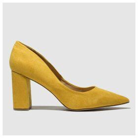 Schuh Yellow Amour High Heels