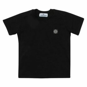 Stone Island Junior Logo Cotton T-shirt