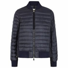 Moncler Rome Navy Shell Jacket