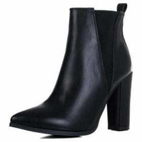 Spylovebuy  Dollie  women's Low Ankle Boots in Black