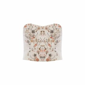 IMAIMA - Maha Hand Embroidred Top In White