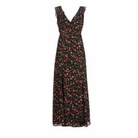 Moony Mood  KAOPS  women's Long Dress in Black