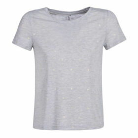 Only  ONLISABELLA  women's T shirt in Grey