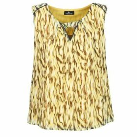 One Step  MAFA  women's Blouse in Yellow