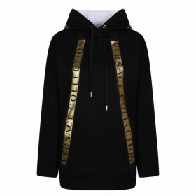 Versace Collection Tape Hooded Sweatshirt