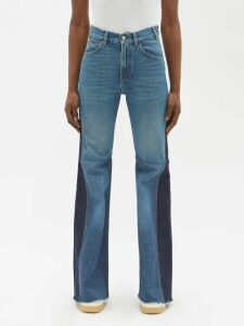 Prada - Intarsia-logo Roll-neck Wool Sweater - Womens - Navy