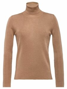Prada turtle neck jumper - Brown