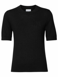 Burberry monogram sweater - Black