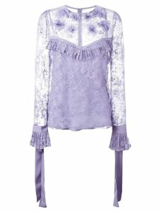 Elie Saab lace blouse - Pink